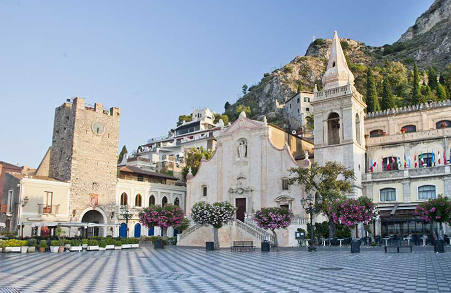 taormina valle del bove teatro greco